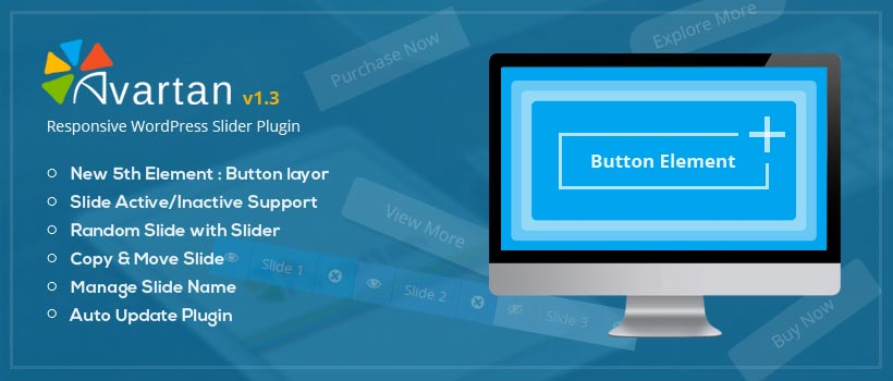 Responsive WordPress Slider – Avartan Slider v1.3 is here
