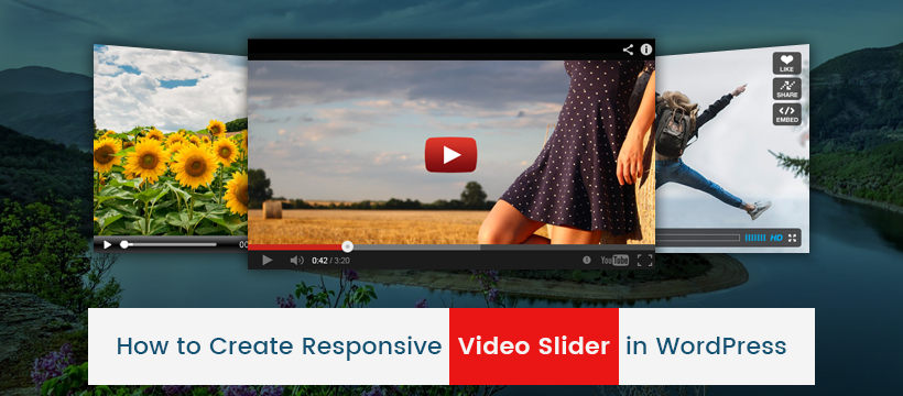 create video slider in wordpress