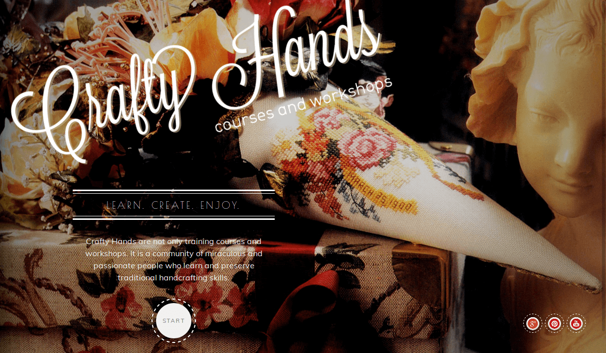 Crafty Hands WordPress Theme